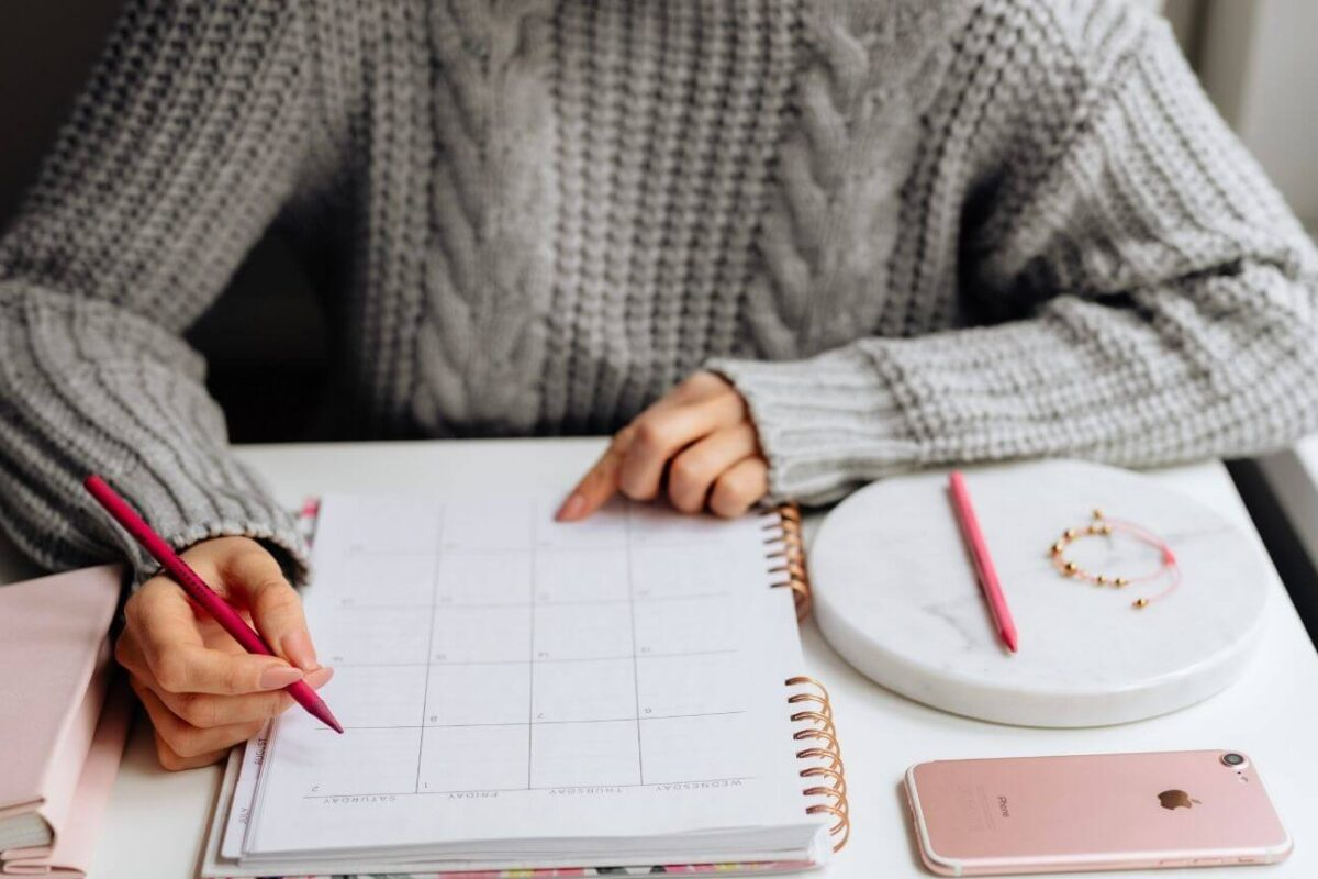 Comment organiser son mois ?