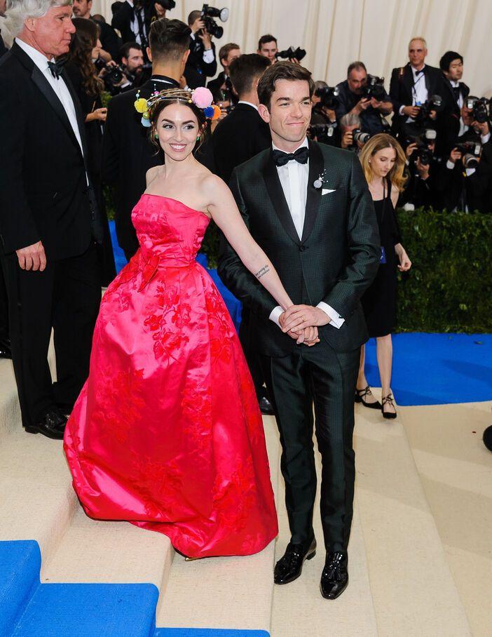 John Mulaney et son épouse