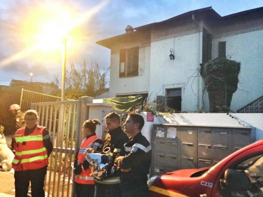 Effondrement d'une maison à Cagnes-sur-Mer
