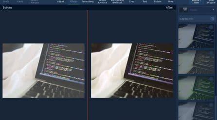 Retoucher et sublimer une photo avec un logiciel dédié